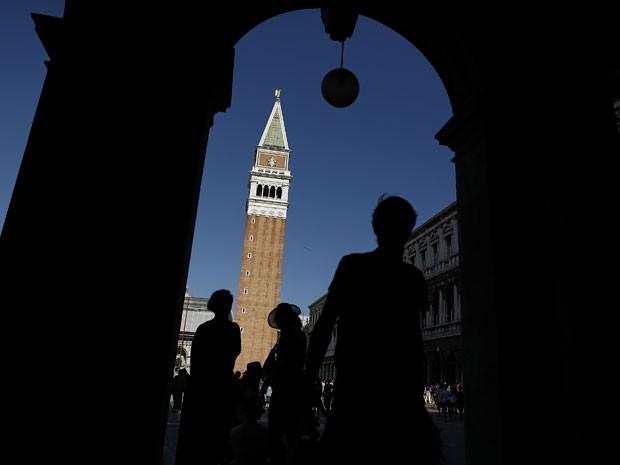 Vista da Praça de São Marcos, em Veneza (Foto: Tony Gentile/Reuters)