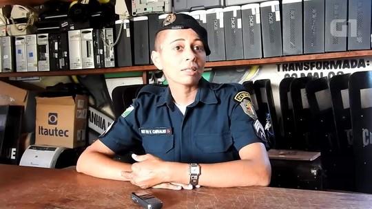 Sem 'pedir para sair', policial encara curso do Choque e é primeira mulher a concluir teste na Polícia Militar de RR