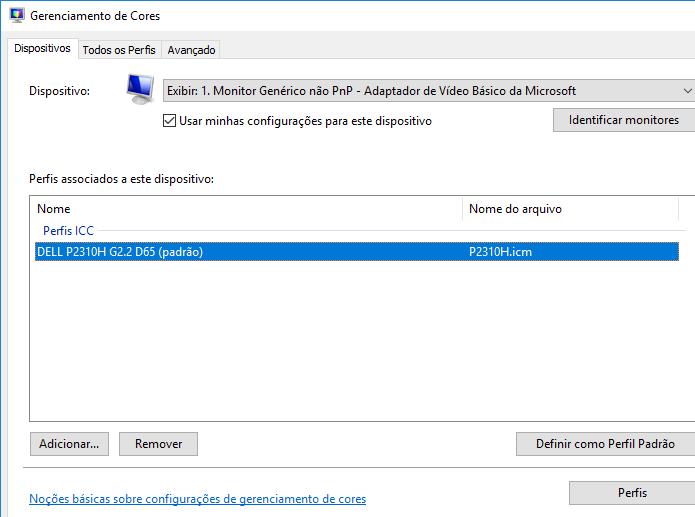 Descubra como ajustar o perfil de cor do seu monitor no Windows 10 (Foto: Reprodução/Edivaldo Brito)