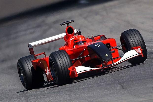 Ferrari correu de luto o GP da Itália de 2001 (Foto: Divulgação)