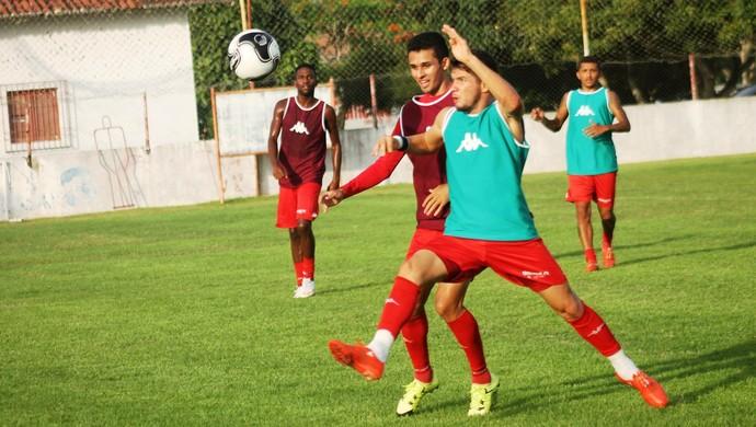 América-RN - relaciona 20 jogadores para jogo contra o Coruripe (Foto: Canindé Pereira/Divulgação)