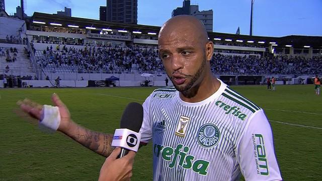 Felipe Melo promete cobrança no elenco do Palmeiras: