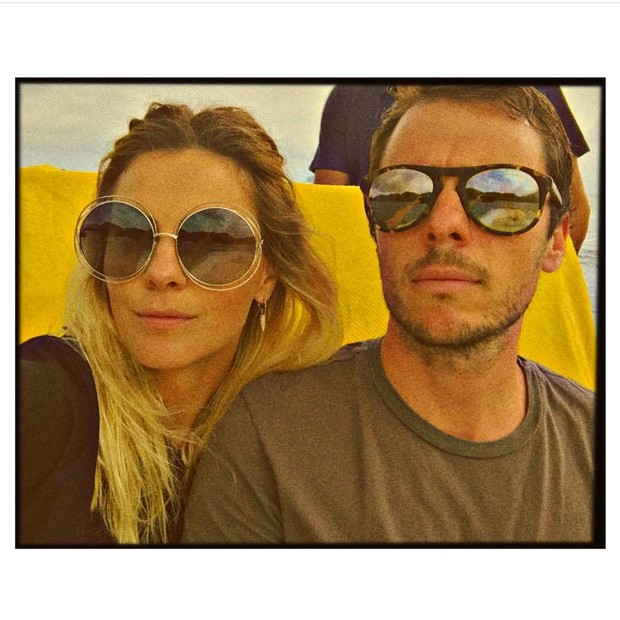 Carolina Dieckmann e Tiago Worcman (Foto: Reprodução/Instagram)