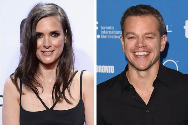 Winona Ryder e Matt Damon (Foto: Getty Images)