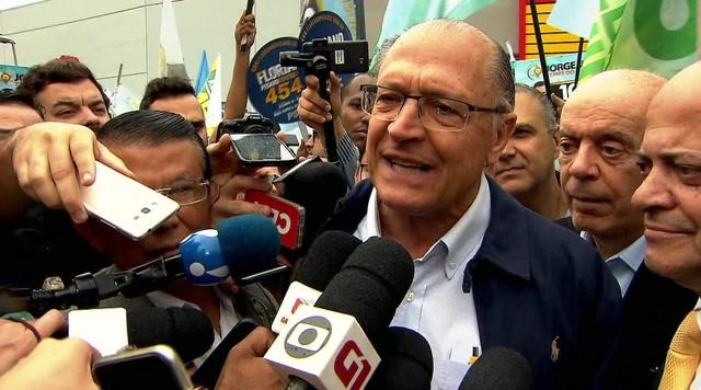 Veja a agenda de campanha do candidato à presidência pelo PSDB, Geraldo Alckmin