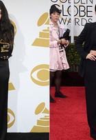 Lorde abandona visual gótico e aparece glamourosa em premiação