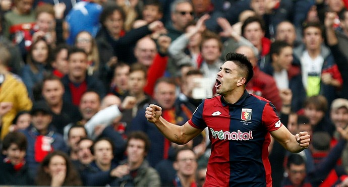 Giovanni Simeone Genoa x Juventus (Foto: Reuters)