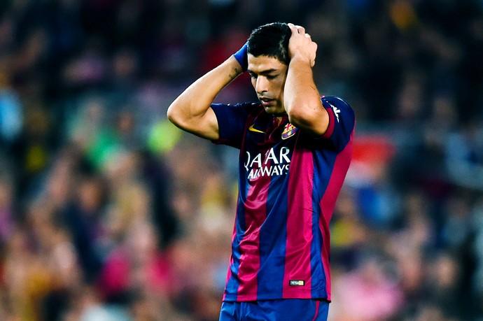Barcelona x Celta de Vigo - Suárez (Foto: Getty Images)