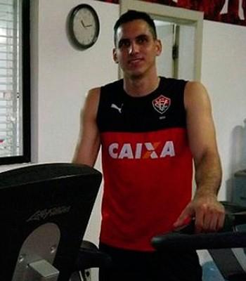 Roberto Fernández; goleiro do Vitória (Foto: Divulgação/EC Vitória)