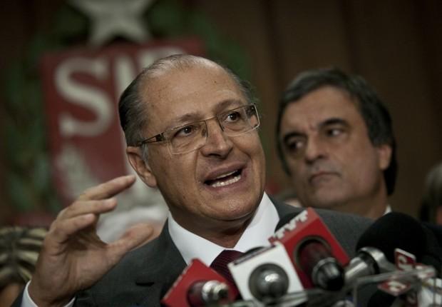 O governador de São Paulo, Geraldo Alckmin (Foto: Marcelo Camargo/ABr)
