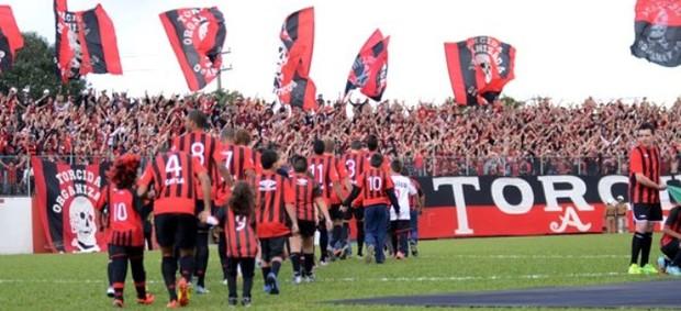 Atlético-PR joga na Vila olímpica do Boqueirão e vence o Atletiba (Foto: Site oficial do Atlético-PR/Divulgação)