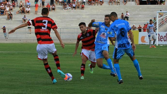 Campinense x CSP, no Estádio Amigão (Foto: Nelsina Vitorino / Jornal da Paraíba)