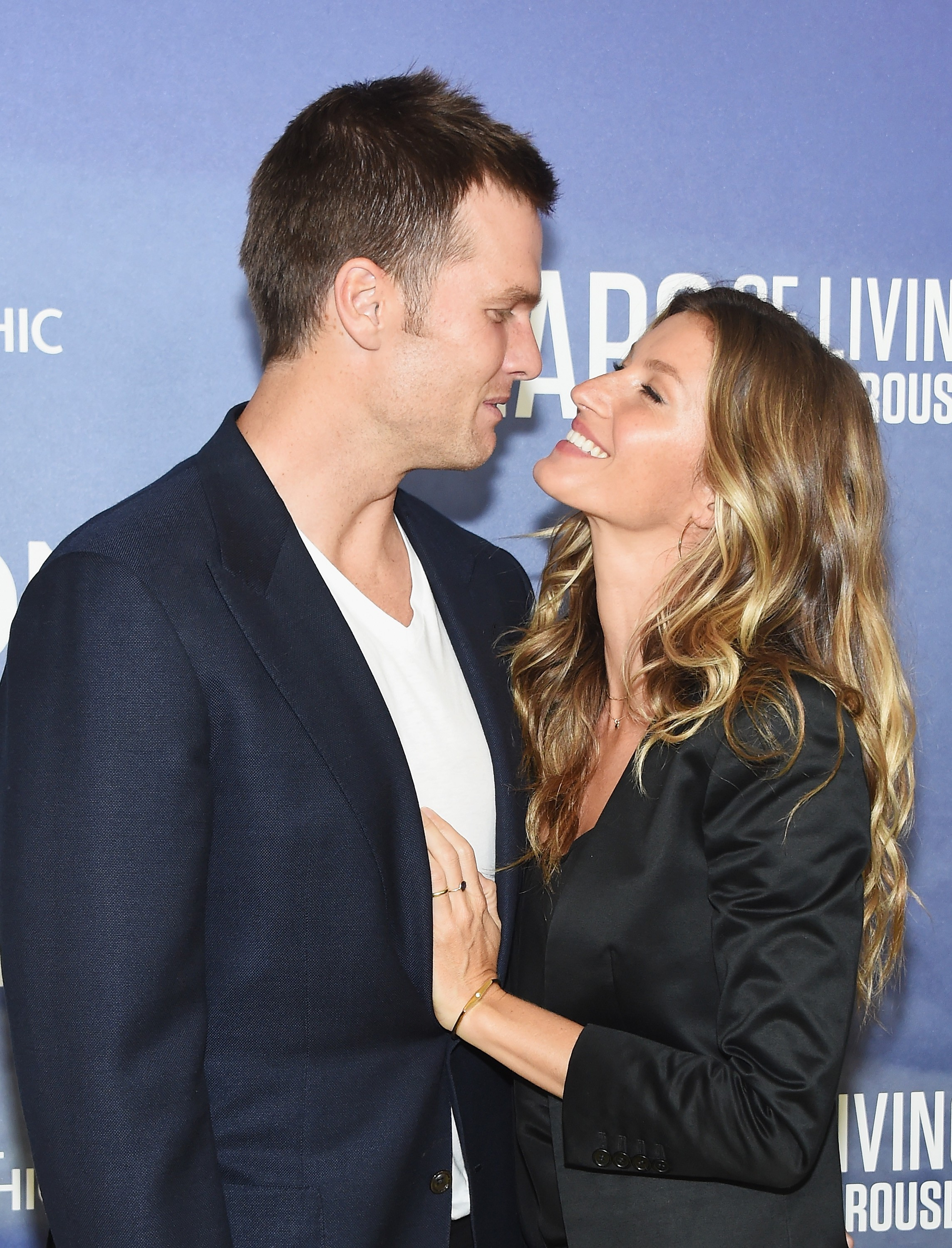 Tom Brady e Gisele Bündchen em evento nos EUA (Foto: Getty Images)