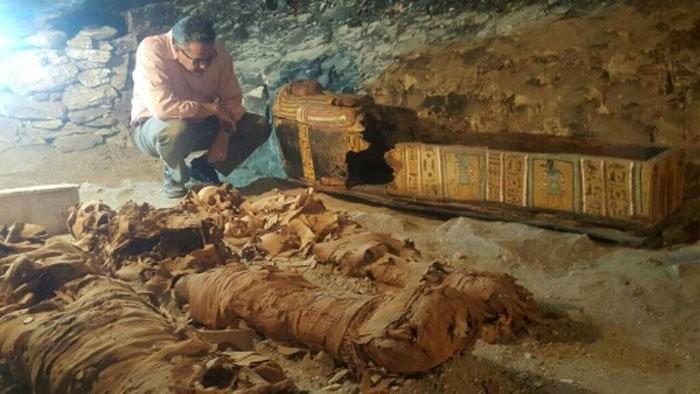 (Foto: Ministério de antiguidades egípcias)