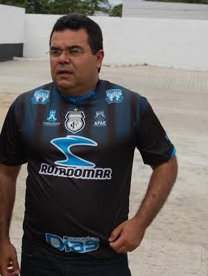 Eduardo Medeiros, presidente do Treze (Foto: João Brandão Neto / GloboEsporte.com/pb)