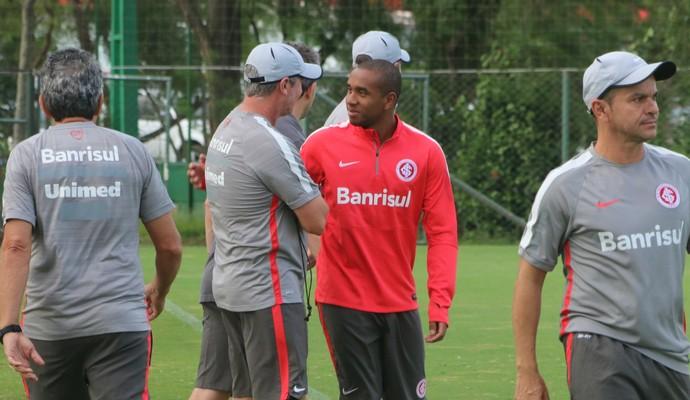 Anderson treino do Inter (Foto: Tomás Hammes/GloboEsporte.com)