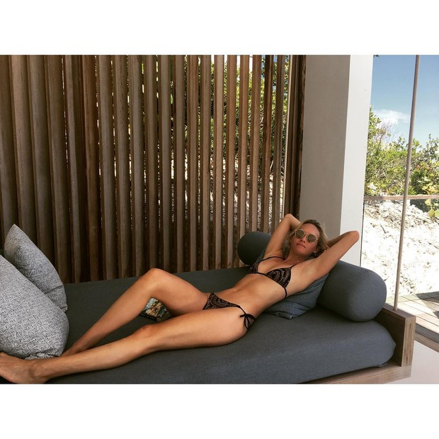 Amber Valletta (Foto: Reprodução/ Instagram)