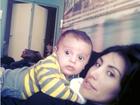 Fofura! Jaque Khury posta vídeo brincando com o filho Gael