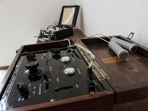 Aparelhos de eletrochoque Museu da Loucura Barbacena (Foto: FHEMIG/ Divulgação)