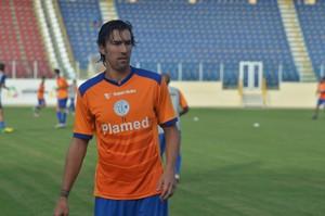leandro kível, confiança, treino (Foto: Osmar Rios / GloboEsporte.com)