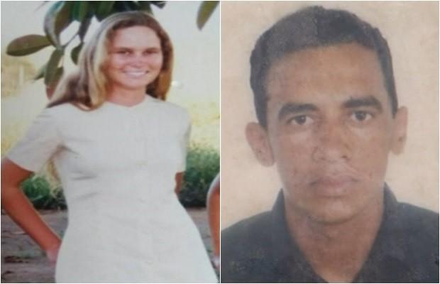 Romilda de Jesus Pereira foi morta a facadas; marido, João Batista Barroso, é o principal suspeito, em Goiás (Foto: Reprodução/TV Anhanguera)