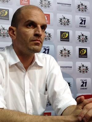 Gustavo Assed deve ser aclamado presidente do Botafogo-SP (Foto: Cleber Akamine / Globoesporte.com)