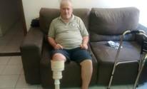 Homem volta a andar após construir própria prótese com canos; assista (Telma Azevedo)