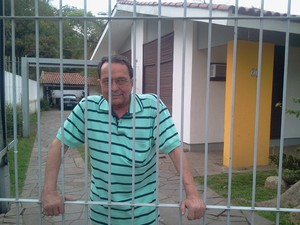 Carlos Araújo Ex-marido de Dilma (Foto: Vanessa Felippe/RBS TV)