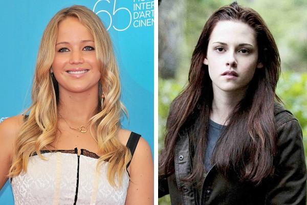 Jennifer Lawrence perdeu o papel de Bella Swan para Kristen Stewart (Foto: Getty Images / Reprodução)