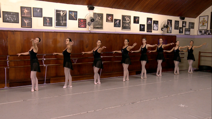 Capixabas fazem balé depois de adultas (Foto: Divulgação / TV Gazeta ES)