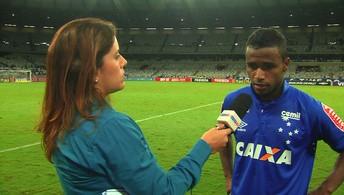 """Élber, sobre partida contra o Figueirense: """"Tivemos que correr atrás"""""""