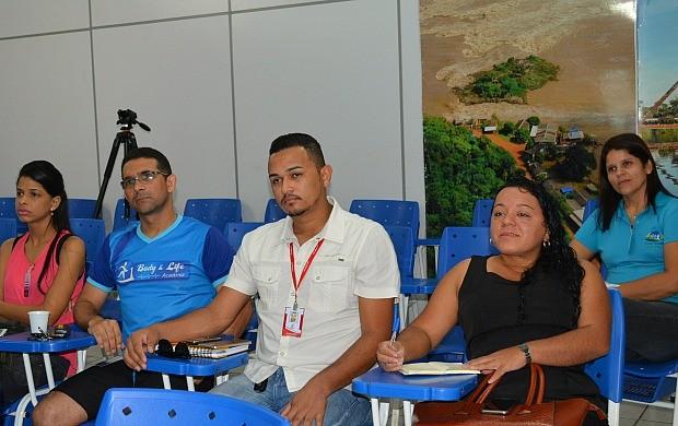 Parceiros do 3º Saúde de Rua se reunem na sede da Rede Amazônica em RO (Foto: Angelina Ayres Medeiros/Rede Amazônica)