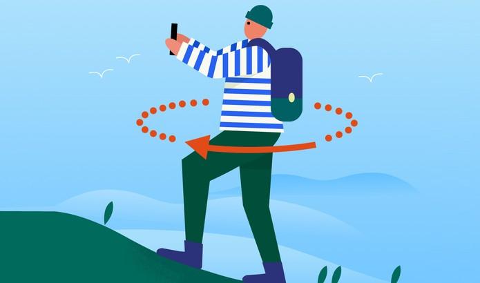 Veja como registrar fotos em 360 graus com app do Google (Foto: Divulgação/Google)