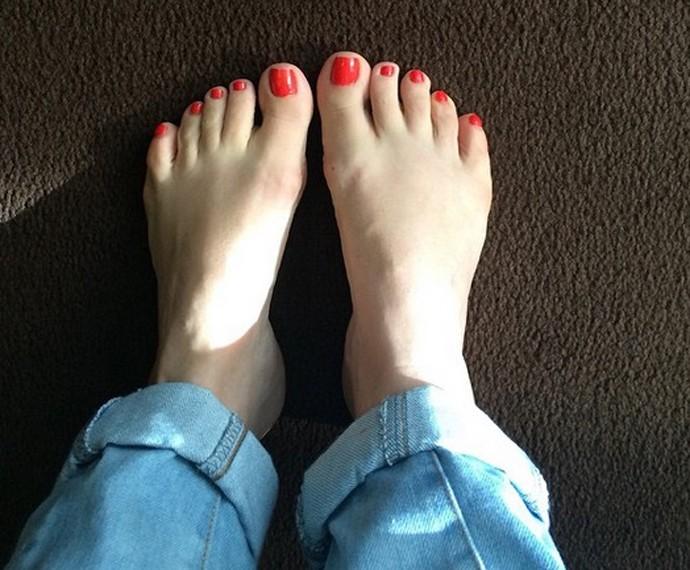 De quem são esses pés (Foto: Arquivo Pessoal)