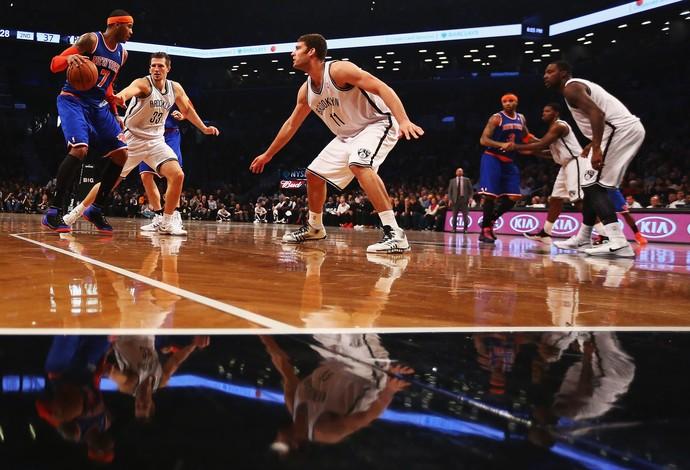 New York Knicks x Brooklyn Nets, NBA (Foto: Getty)