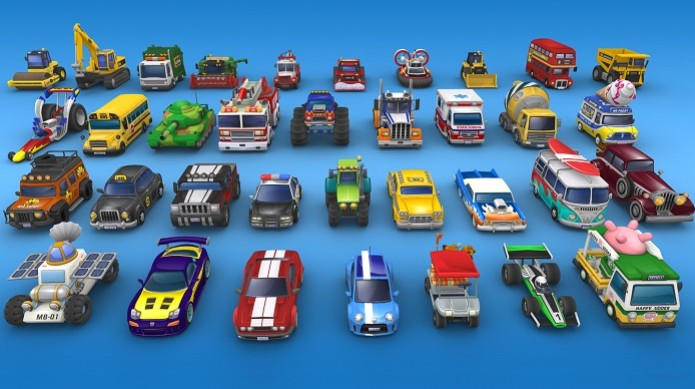 Toybox Turbos possui 35 miniaturas no total (Foto: Divulgação) (Foto: Toybox Turbos possui 35 miniaturas no total (Foto: Divulgação))