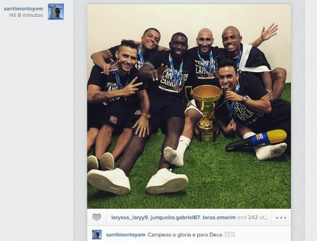 Instagram Montoya, Vasco