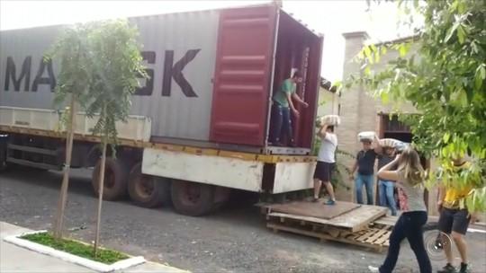 Ação na região de Rio Preto arrecada mais de 25 t de alimentos para o Haiti