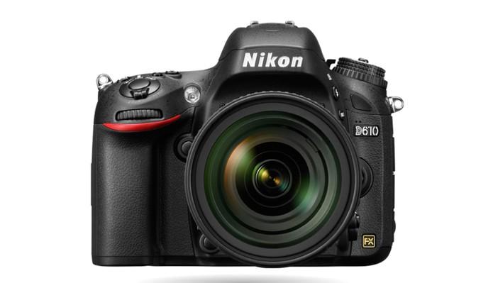 Nikon D610 permite gravar vídeos em Full HD e tem resolução de 24,3 megapixels para fotos (Foto: Divulgação/Nikon)