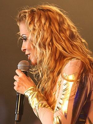 Joelma, da banda Calypso (Foto: Flávio Alves / G1)