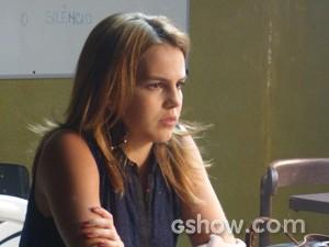 Anita ainda mais confusa (Foto: Malhação / TV Globo)