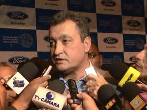 Rui Costa fala sobre demissões na Ford (Foto: Reprodução/Secom)