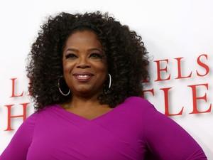 Oprah Winfrey durante a premiere de 'The butler' em Los Angeles, em 12 de agosto de 2013 (Foto: Matt Sayles/Invision/AP)