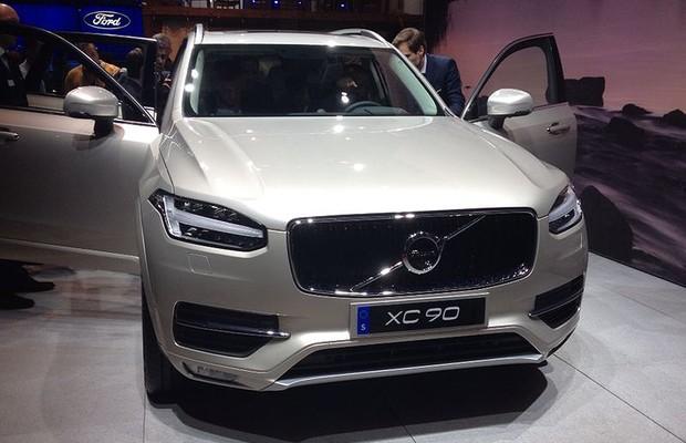 Volvo XC90 (Foto: Aline Magalhães / Autoesporte)