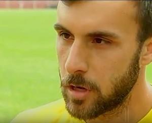 Bernardo Ribeiro, novo reforço do Friburguese (Foto: Reprodução/ Inter TV)