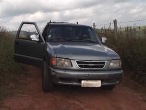 Veículo S10 foi envolvido em negociação sem que a dona soubesse, em São José dos Campos.  (Foto: Patrícia Azevedo)