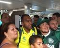Alecsandro supera pesadelo e volta ao Palmeiras nos braços da torcida