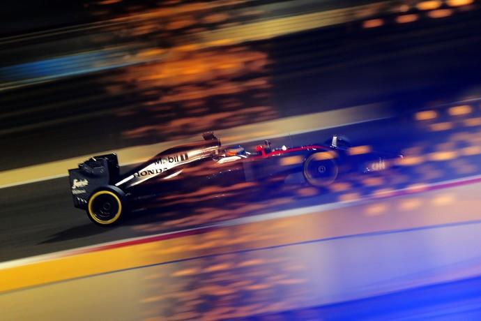 Fernando Alonso, McLaren, treino classificatório, GP do Bahrein, Fórmula 1 (Foto: Getty Images)