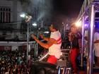 Depois de rei de bateria, David Brazil vira divo de bloco em Salvador