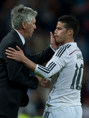Carlo Ancelotti James Rodríguez Real Madrid (Foto: Getty Images)